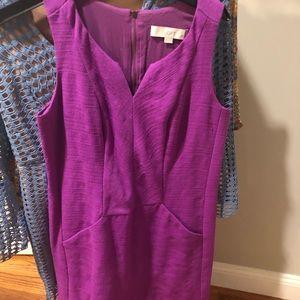 Anne Taylor loft purple dress